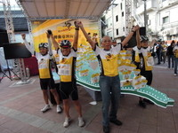 自行車「轉動台灣」 迎接建國百年最後一天