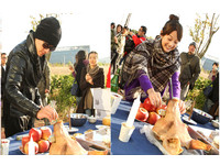 豬頭裡塞鈔票 柴智屏新戲《翻糖花園》韓國拍攝嘗鮮