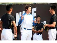 MLB/客串一日教練 王建民望小將「永不放棄」