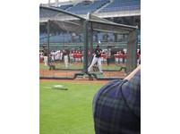 MLB台灣賽/首度練習 坎諾開轟兼做公益