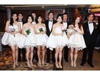 Selina夢幻婚禮 伴娘伴郎團好吸睛!