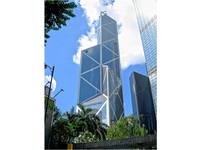 香港中銀大廈像利刃? 正面種柳樹擋殺氣