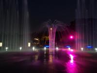 澄清湖入口景觀 變身水舞噴泉