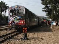 阿里山小火車出軌 嚇壞140乘客9日正常發車