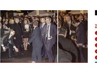 李奧納多走紅毯大鵰被襲…疑遭男記者親吻、磨蹭下體