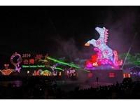 「台灣燈會」閉幕6分鐘煙火秀劃下句點 2015台中接棒