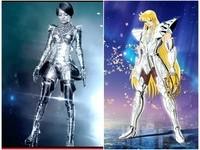 張韶涵機器人造型遭疑抄襲 激似《聖鬥士》「沙加」