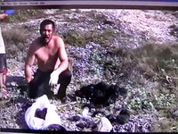 遊小琉球撈27顆馬糞海膽 男子上岸被捕