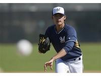 MLB/進25人名單後首登板 王維中關門遭打爆