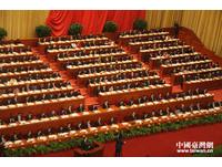 陸全國政協十二屆二次會議 向昆明遇害者默哀