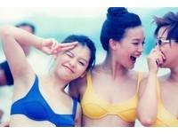 舒淇、徐若瑄清純比基尼舊照曝光 俏臉嫩乳獲讚純天然