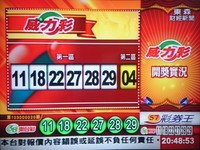 快訊/15億威力彩11、29、18、27、22、28 第二區04