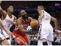 NBA/第六人變年度第一隊 哈登:專注在奪冠上!