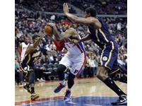 NBA/溜馬克服25分落後 喬治30分強勢逆轉活塞