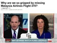 「馬航370陰謀論」CNN收視率暴增 紐時華郵看不下去