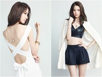 《少時》潤娥胸腰美背一起露 白皙肌膚搶鏡女神味十足
