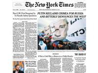 美媒:俄國併吞克里米亞 意在解體北約