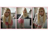 英15歲白化症女 激似超萌洋娃娃