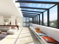 陽光滿溢的羅馬尼亞時尚頂層公寓