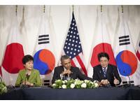 安倍首次會晤樸槿惠 日韓4月中旬將討論慰安婦問題
