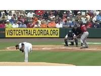 MLB/老虎波瑟羅「這哪招」 對手呆住再無奈揮棒