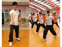 「提臀哥」陳尚澤電眼激似林峯 48歲夏靖庭苦練拳超拼