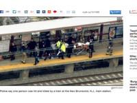 男子月台傾身火車迎面撞斃 鮮血飛濺殘肢「噴傷」乘客