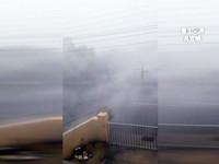 對流雲系旺盛 台南後壁區下冰雹