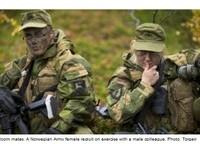 4男2女一間房 挪威軍隊設「男女混睡營舍」