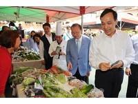 新北有機無毒蔬菜創意料理 朱立倫與阿基師按讚