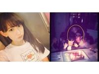 AKB48小嶋陽菜慶生遭狼吻 「兇手」歐吉桑下跪道歉