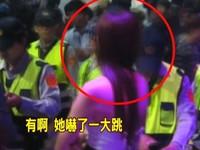 警夜店拍微電影 臨檢長髮露背辣妹…妳是通緝犯!