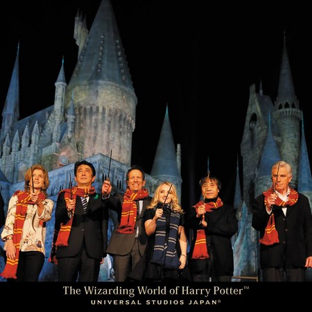 亚洲第一个 哈利波特主题乐园 7月大阪环球影城开幕