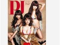 Q彈胸型車拚!陳喬恩「隱乳」狂晃PK日本AKB48幼嫩美乳