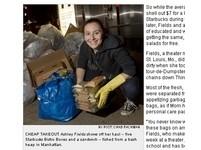 大學畢業成「紐約丐幫」 垃圾堆中找美食省餐費
