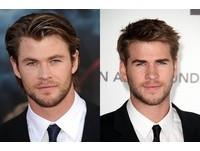 基因超強!3對好萊塢超帥兄弟檔 索爾跟弟宛如雙胞胎