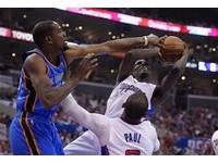 NBA季後賽/快艇主帥出奇招 保羅守杜蘭特奏效?