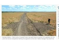 外星麥田圈?澳洲北領地驚見神秘圓形痕跡