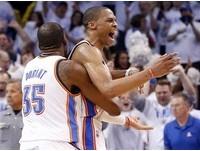 NBA季後賽/雷霆黯然出局 波波維奇:雙槍仍是一流的