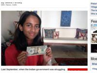 捐20美元救經濟 10歲女孩寫信央行長:國家比我需要它