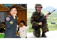 「聯勇之花」楊喬琳變胖崩壞了?軍方力挺一樣正