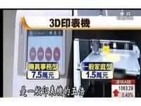 「隔空傳送」成真了! 全球首台3D傳真機一台7.5萬
