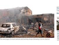 又是博科聖地? 奈及利亞單日二「炸」至少118死