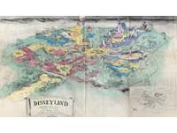 1953年Disneyland設計藍圖曝光 裡面有厘厘普王國