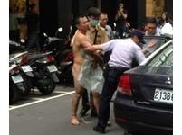 酒駕通緝犯裸身搭捷運 持刀遭捕辯稱「被神明附身」