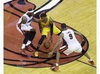 NBA季後賽/打熱火像兄弟對決 溜馬教頭:弟弟會超越