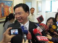 民進黨秘書長吳釗燮出庭應訊 籲特偵組勿執行政治惡鬥