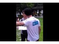 輔大學生要蔣公滾 教官爆氣「他是我的偉人」揚言報警