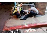 日商黑褲襪OL喝太多、鞋飛了 超商外險被「同事」撿屍