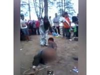13歲女兒遭性侵 馬國母親私刑怒鞭歹徒